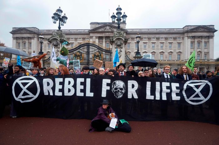 Extinction Rebellion : la désobéissance civile s'invite à Londres
