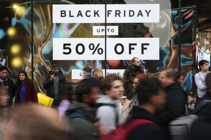 Le Black Friday débarque à Londres