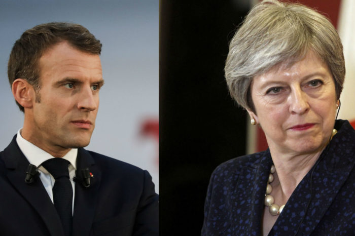 "Emmanuel Macron ""citoyen d'Europe"", Theresa May au cœur d'un scandale"